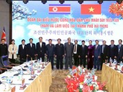 朝鲜劳动党高级领导代表团访问海防市