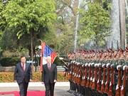 老挝媒体高度赞扬越共中央总书记、国家主席阮富仲对老进行的国事访问