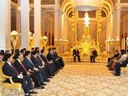 柬埔寨媒体高度评价阮富仲访柬之旅