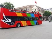 河内新增公交路线与站点为国内外记者提供免费服务