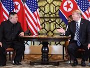 美朝领导人第二次会晤:美国总统特朗普与朝鲜领导人开始第二次会晤的第二个工作日