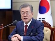 朝美领导人第二次会晤:韩国总统密切关注会晤进展情况