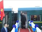 朝鲜最高领导人圆满结束对越南进行的正式友好访问