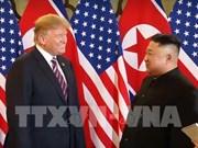 美朝领导人第二次会晤:美国总统特朗普强调与朝鲜最高领导人金正恩有着非常好的关系