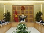 越南政府总理阮春福主持召开经济社会委员会会议