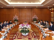 促进越南与蒙古在各个领域的合作关系