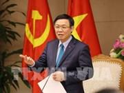 越南政府副总理王廷惠承担国有资金管理委员会直接管理任务