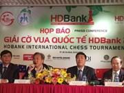 300余名国际象棋棋手将参加2019年HDBank国际象棋比赛