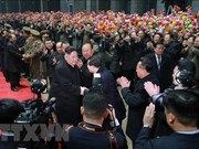 朝中社:朝鲜最高领导人金正恩结束访越行程回到平壤