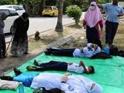 马来西亚数十名学生因化学中毒而住院治疗