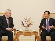 越南与美国促进贸易合作