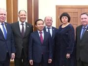 越南与俄联邦议会友好议员小组加强配合