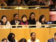 联合国第63届妇地会年会:越南在性别平等方面取得长足进展