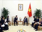 阮春福会见日本千叶县知事和荷兰新任驻越大使