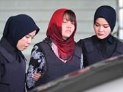 段氏香朝鲜公民被杀案庭审将推迟至4月1日