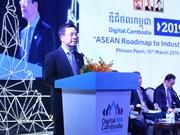 越南与柬埔寨签署邮政、电信领域的合作协议