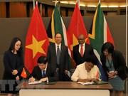越南与南非加强友好与全面合作关系