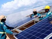 巴地头顿省将投资6467万美元建设两个太阳能发电项目
