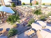 岘港市白藤夜市和步行街预计将于6月投运