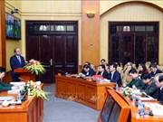 越南政府总理阮春福: 筑起新形势下坚固的警备区