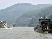 第80次中老缅泰湄公河联合巡逻执法编队启航