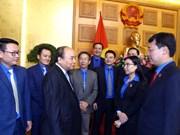 阮春福总理:新时期为青年树立新标杆