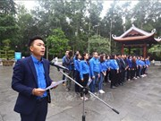 越通社与越南广播电台青年团员铭记胡伯伯遗嘱