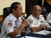 印度尼西亚就狮航波音737MAX坠机事故召开记者会