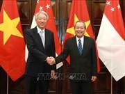 进一步促进越南与新加坡战略伙伴关系