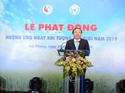 越南响应2019年世界气象日活动正式启动