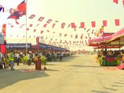 由中国援建的柬埔寨首条高速公路22日动工兴建