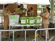 泰国选举委员会宣布推迟公布选举初步结果