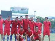 2019湄公河-澜沧江合作足球友谊赛越南队夺冠
