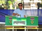 泰国大选:现任总理巴育的党得票暂时领先