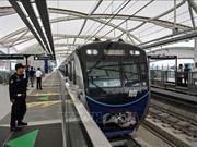 印尼首条地铁在雅加达开通