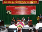 胡志明市与老挝万象举行有关干部公务员培训工作的研讨会