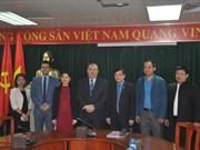 越南工会与比利时工会加强合作