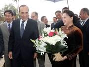 越南国会主席阮氏金银开始对摩洛哥王国进行正式访问