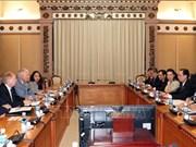 加拿大企业希望在胡志明市进行长期投资与经营