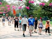 今年前3月河内游客接待量达近750万人次