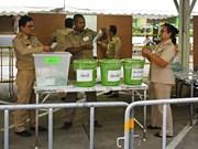 泰国大选突然公布大选非正式结果