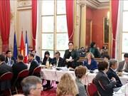 国会主席阮氏金银会见法越议员友好小组和法国企业代表