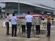 越南向美国移交在战争中失踪的美国军人遗骸