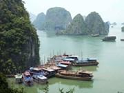 越南下龙湾跻身世界最美自然奇观