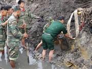 广宁省成功迁移重达230公斤的炸弹