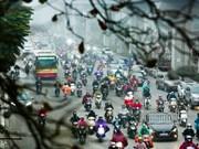 河内市将逐步禁止摩托车通行以缓解交通拥堵