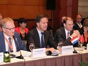 荷兰首相:继续消除障碍 敞开越荷企业投资合作大门