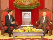 越共中央总书记、国家主席阮富仲会见荷兰首相马克·吕特