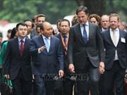 荷兰首相马克·吕特圆满结束对越南进行的正式访问