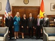 越南共产党高级代表团对美国进行工作访问